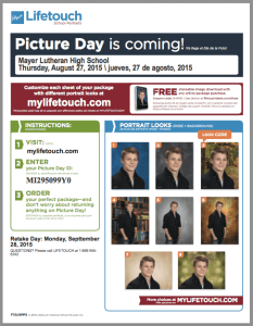 MLHS Picture Day